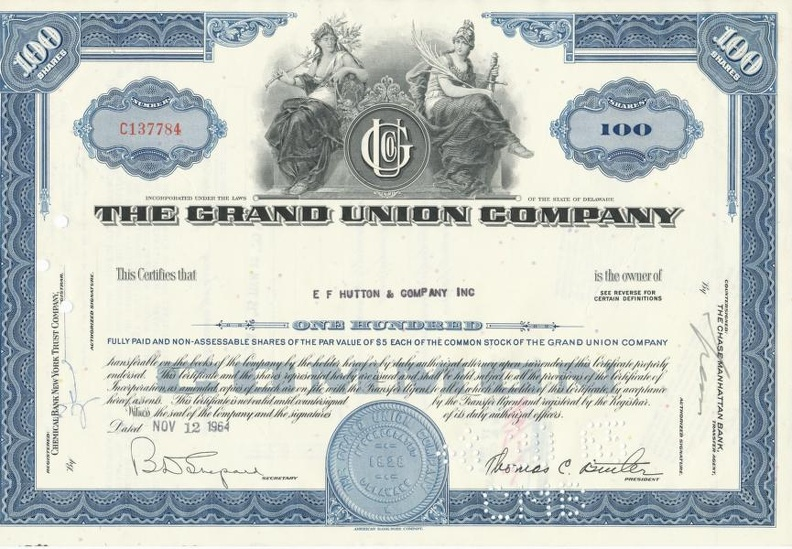THE GRAND UNION COMPANY von 1964 Nr. C137784.JPG