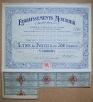 ETABLISSEMENTS MOURIER Nr. 0012479448049